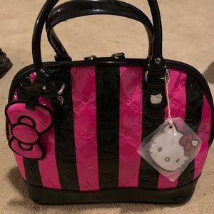 3f0581741 Women Black Loungefly Hello Kitty Bag on Poshmark